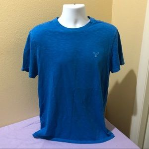 American Eagle Men's Blue T-Shirt size L Athletic